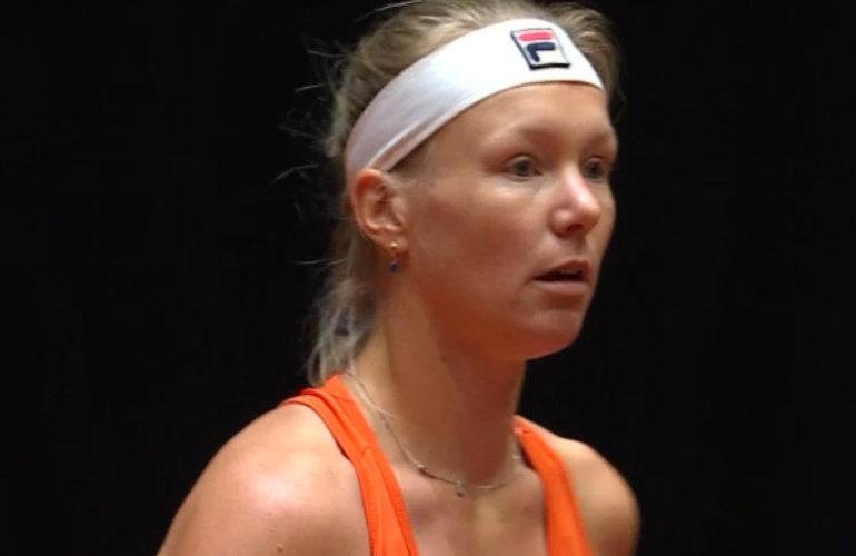Kiki Bertens meldt zich af voor toernooi in Stuttgart