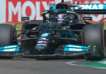 Lewis Hamilton wint Grand Prix van Groot-Brittannië