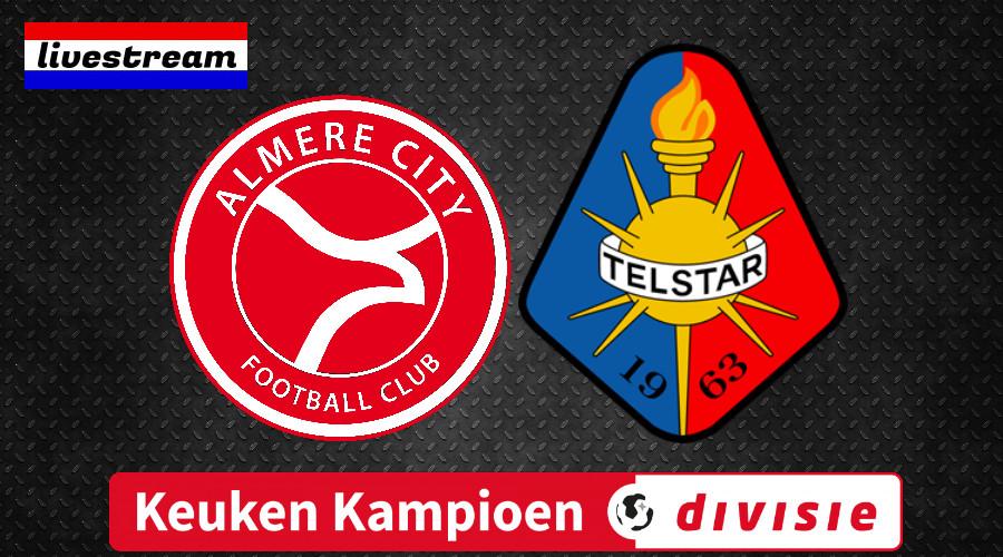 Livestream Almere City - Telstar