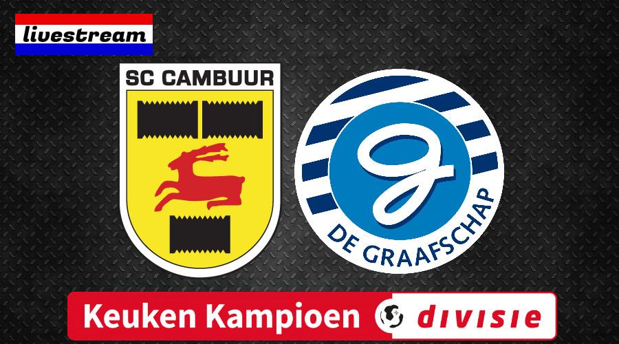 Livestream Cambuur - De Graafschap