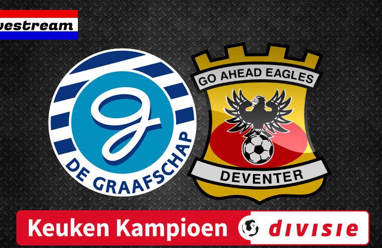 Kijk hier gratis De Graafschap - Go Ahead Eagles | LIVESTREAM