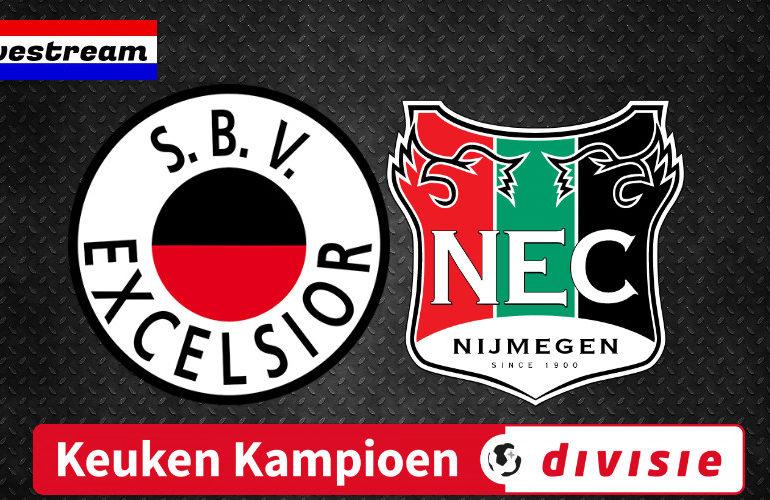 Livestream Excelsior - NEC Keuken Kampioen Divisie