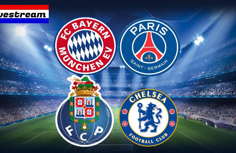Livestream FC Bayern - PSG | Porto - Chelsea | UCL