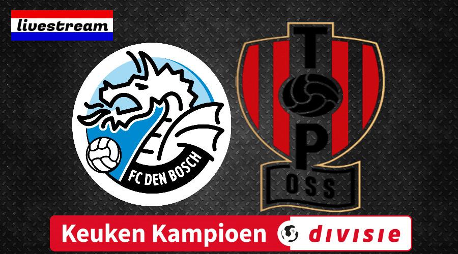 Livestream FC Den Bosch - TOP Oss
