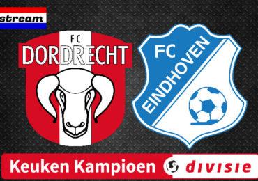 KKD livestream FC Dordrecht - FC Eindhoven