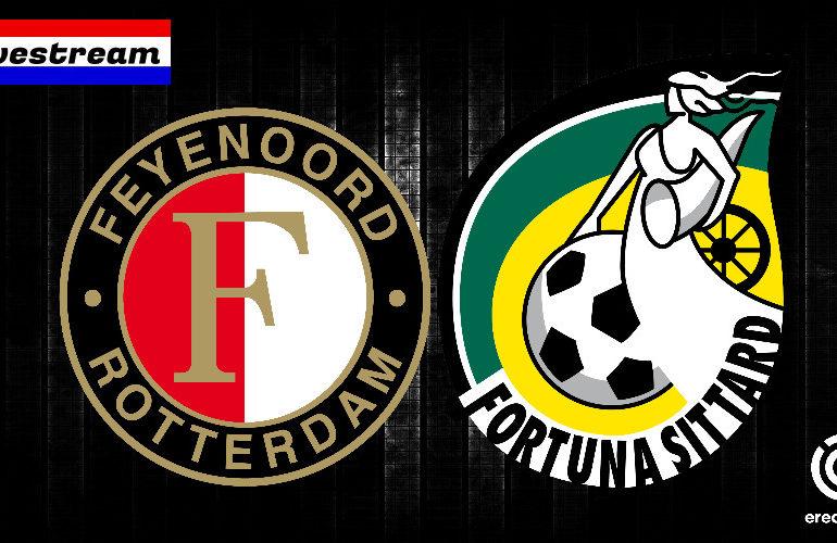 Feyenoord - Fortuna Sittard gratis eredivisie livestream