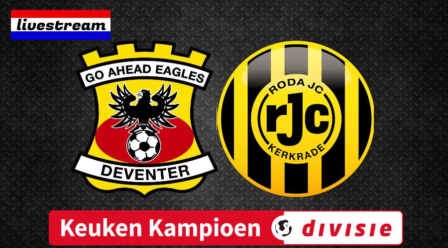 Livestream Go Ahead Eagles - Roda JC