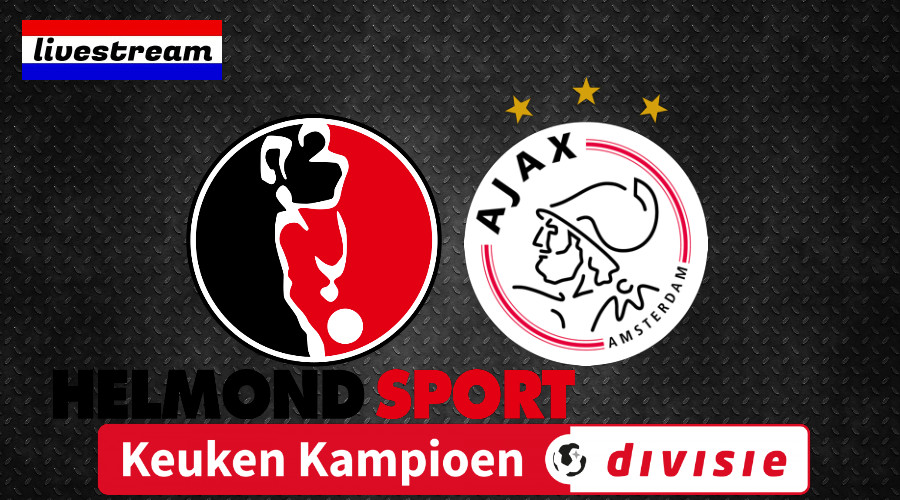 Livestream Helmond Sport - Jong Ajax