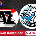 Livestream Jong AZ - FC Den Bosch