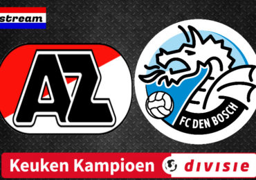Livestream Jong AZ - FC Den Bosch gratis voetbal kijken