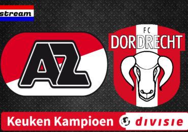 Livestream Jong AZ - FC Dordrecht | KKD LIVE