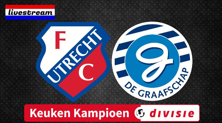 Livestream Jong FC Utrecht - De Graafschap