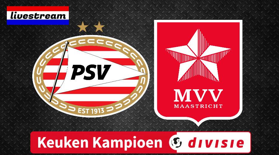 Livestream Jong PSV - MVV Maastricht