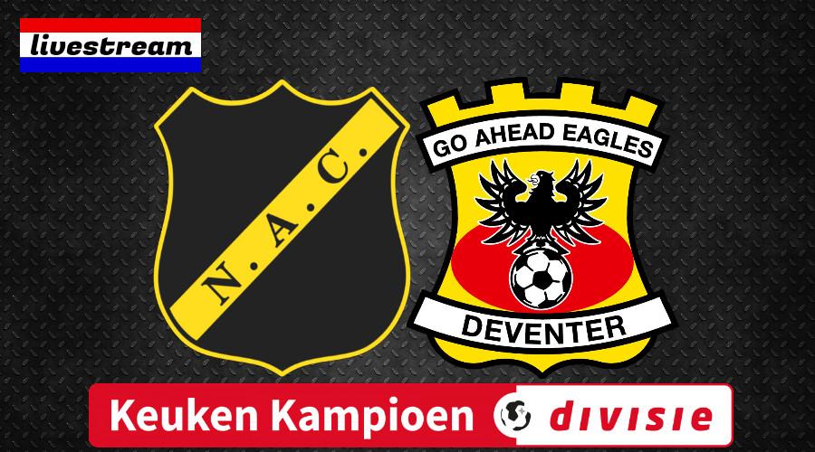 Livestream NAC Breda - Go Ahead Eagles
