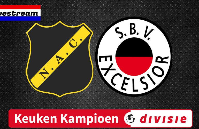 NAC Breda - Excelsior live kijken   LIVESTREAM