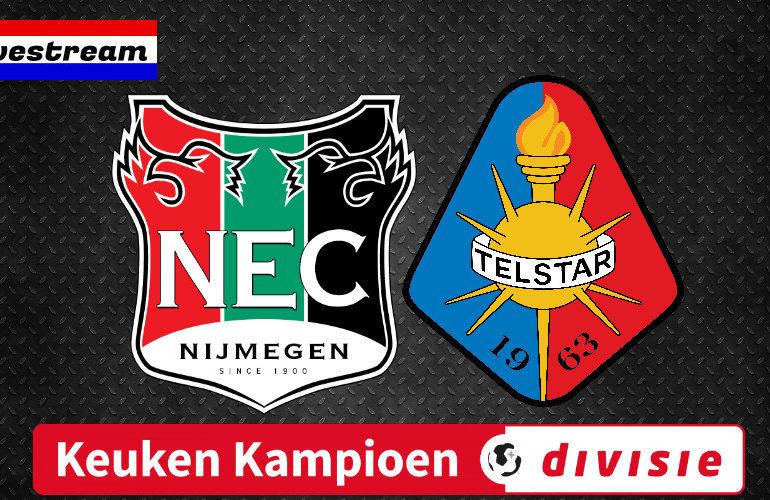 NEC - Telstar kijken via een gratis voetbal livestream