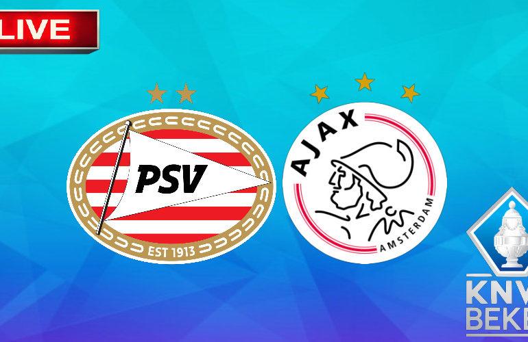 PSV - Ajax   KNVB Beker vrouwen   LIVESTREAM