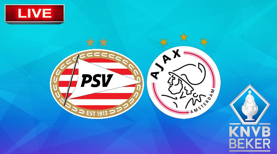 Livestream PSV - Ajax KNVB Beker vrouwen