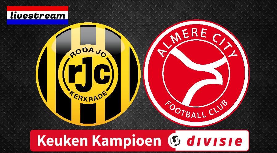 Livestream Roda JC - Almere City FC