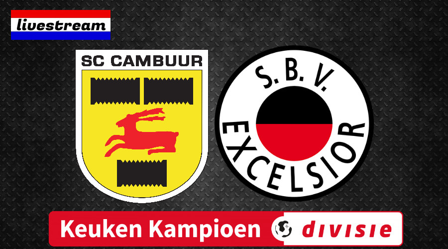 Livestream SC Cambuur - Excelsior