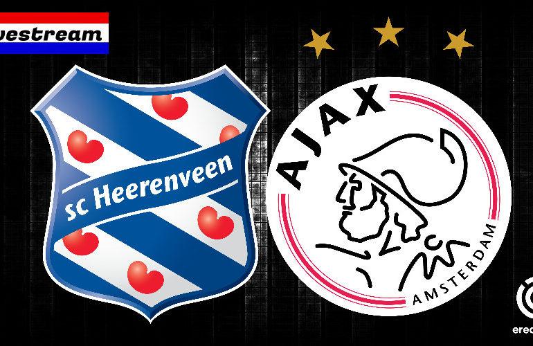 Kijk hier gratis SC Heerenveen - Ajax via een livestream
