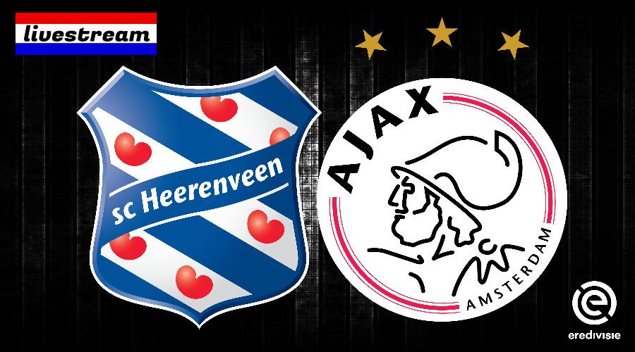 Livestream SC Heerenveen - Ajax