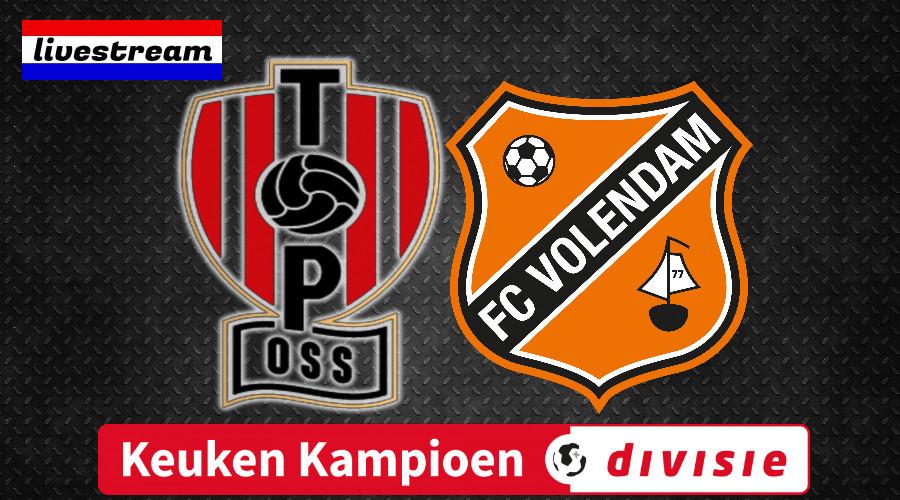 Livestream TOP Oss - FC Volendam