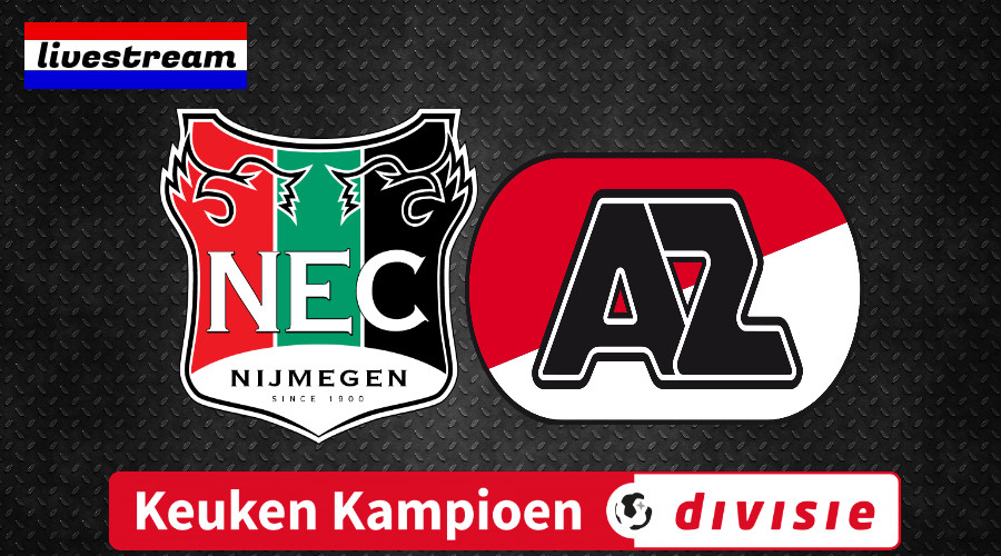NEC - Jong AZ Keuken Kampioen Divisie Livestream