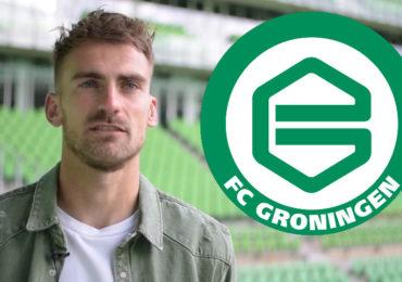 FC Groningen strikt doelman Peter Leeuwenburgh