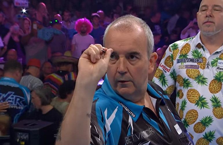 Phil Taylor (60) wil comeback maken bij UK Open