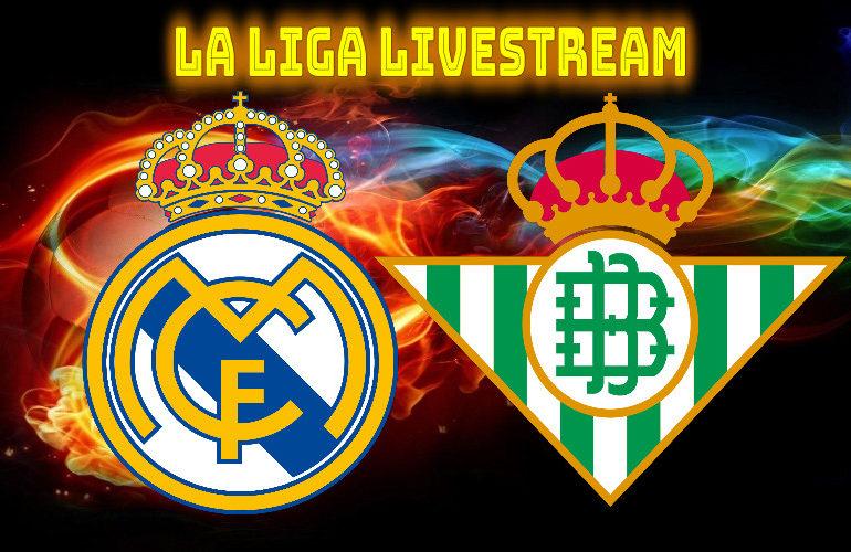 Real Madrid - Real Betis | LIVE STREAM | La Liga | Watch LIVE