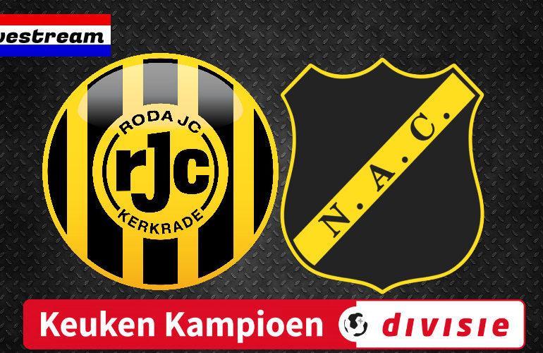 Roda JC - NAC | LIVESTREAM | Keuken Kampioen Divisie