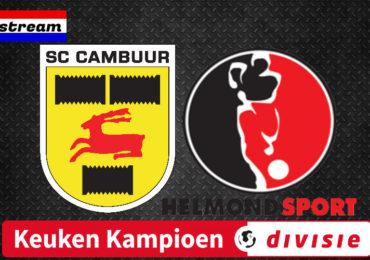 SC Cambuur - Helmond Sport | LIVESTREAM | Keuken Kampioen Divisie