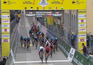Colbrelli wint tweede etappe in Romandië