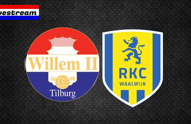 Willem II - RKC | Kijk hier gratis via een livestream | Eredivisie