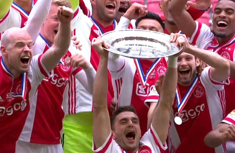 Ajax voor 35ste keer kampioen van Nederland
