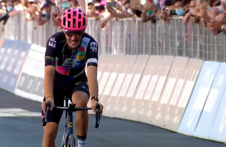 Alberto Bettiol winnaar 18e Giro etappe