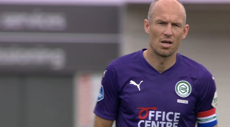 Arjen Robben FC Groningen