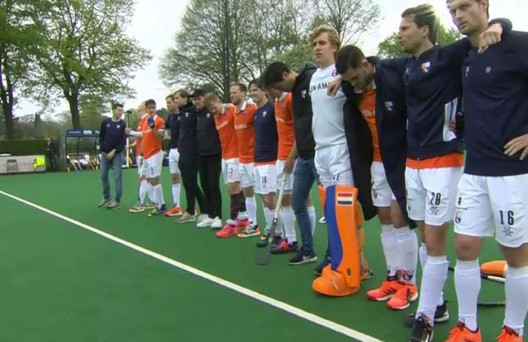Hockeyers Bloemendaal kampioen van Nederland