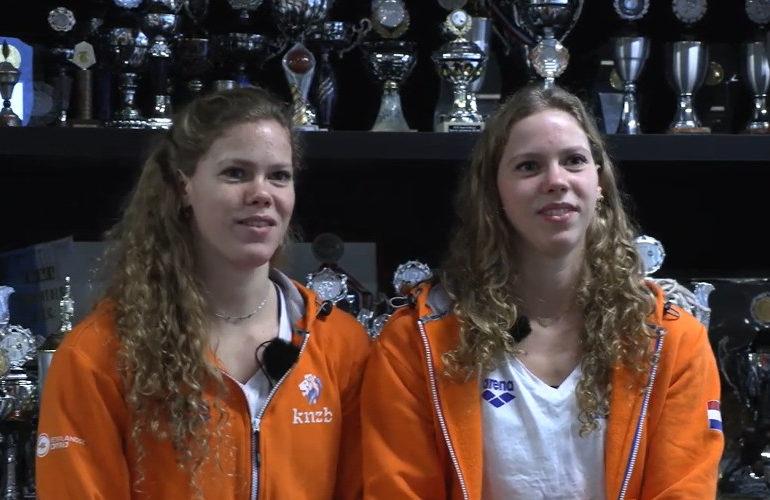 Synchroonzwemsters de Brouwer bereiken finale op EK