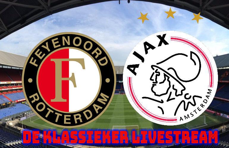 De Klassieker Feyenoord - Ajax gratis kijken