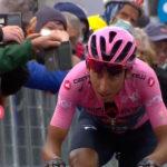 Egan Bernal dicht bij eindzege in Giro d'Italia