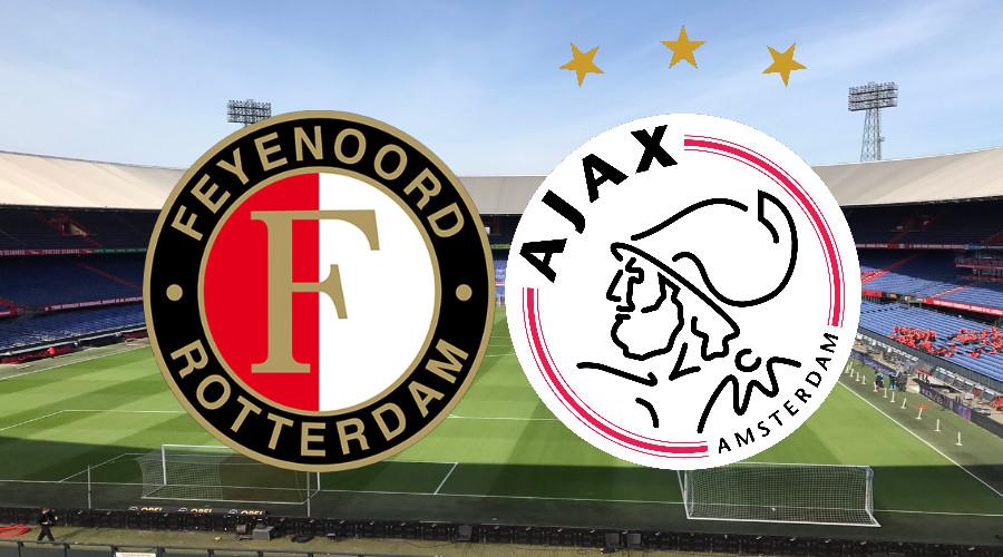 Eredivisie speelronde 32 live stream Feyenoord - Ajax