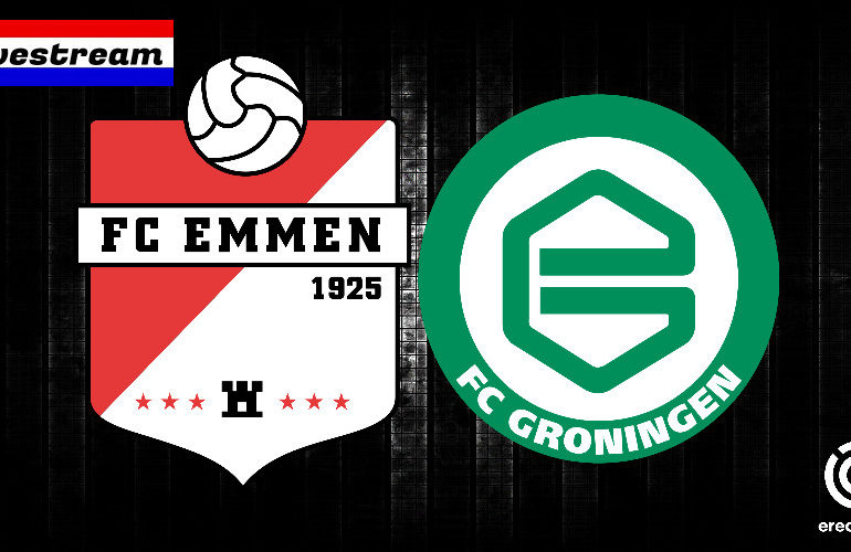 Eredivisie livestream FC Emmen - FC Groningen