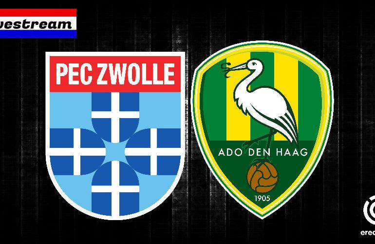 Eredivisie livestream PEC Zwolle - ADO Den Haag