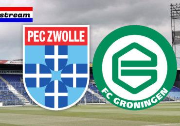 Eredivisie livestream PEC Zwolle - FC Groningen