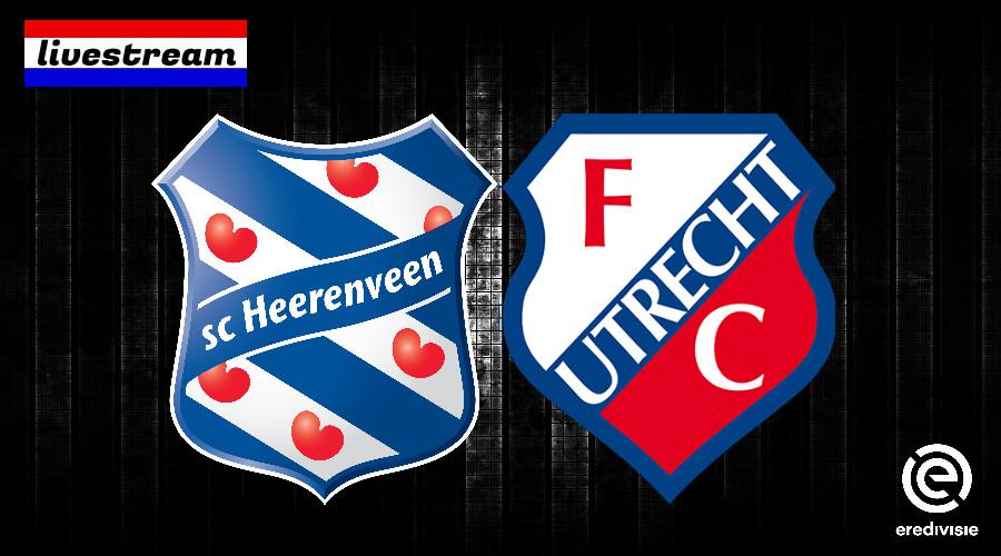 Eredivisie livestream SC Heerenveen - FC Utrecht