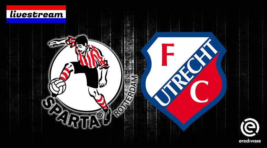 Eredivisie livestream Sparta - FC Utrecht