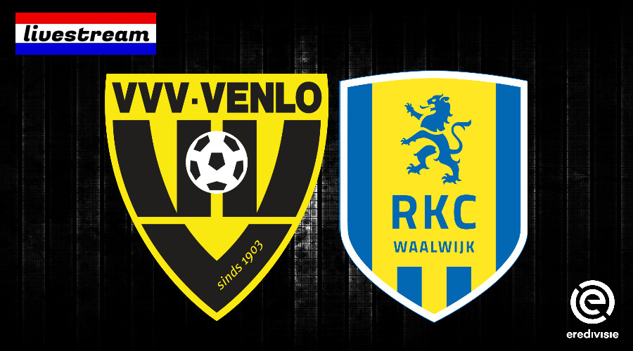 Eredivisie livestream VVV - RKC