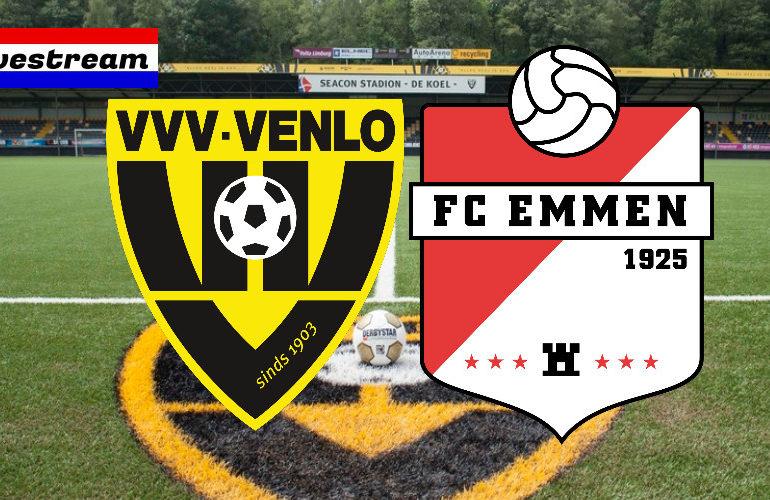 Eredivisie livestream VVV-Venlo - FC Emmen